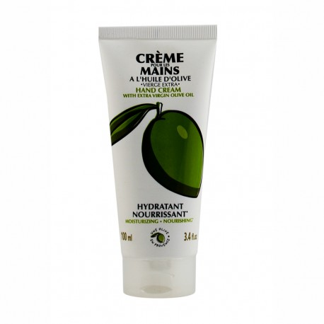 Crème pour les mains à l'huile d'olive vierge extra 100 ml