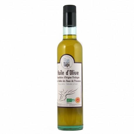 Huile d'olive Fruité vert AOP Vallée des Baux de Provence certifiée FR BIO 01 50cl