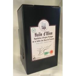 Huile d'olive AOP Vallée des Baux de Pce en Fruité vert certifiée biologique ECOCERT FR BIO 01