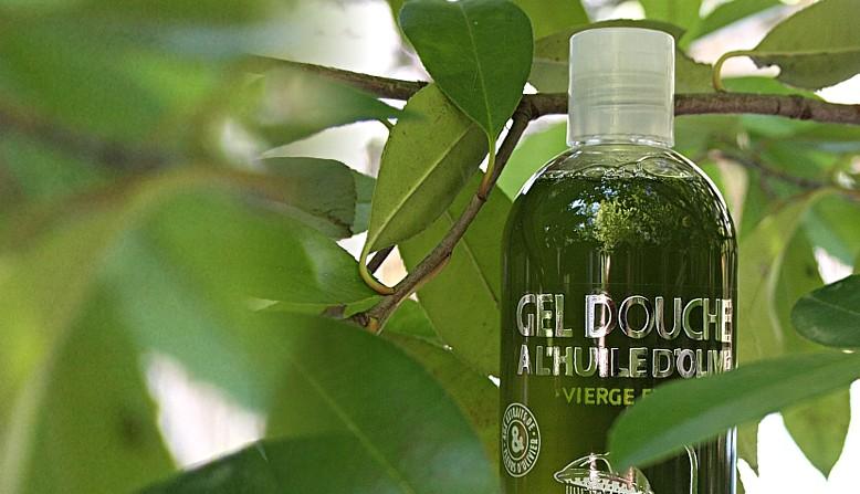 Gel douche à l'huile d'olive